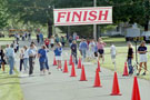 Photo: Stockley stride finish line