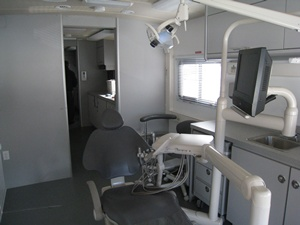 Inside View of Mobile Dental Clinic