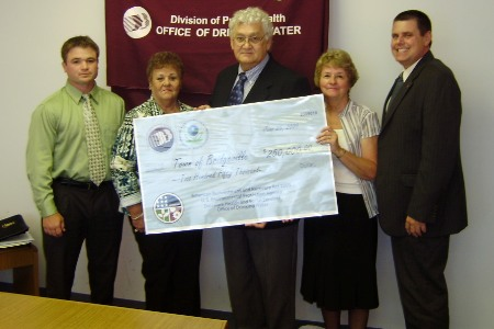 Town of Bridgeville receives ARRA funds