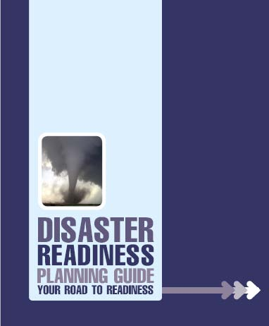 disaster readiness planner and disaster readiness planning guide