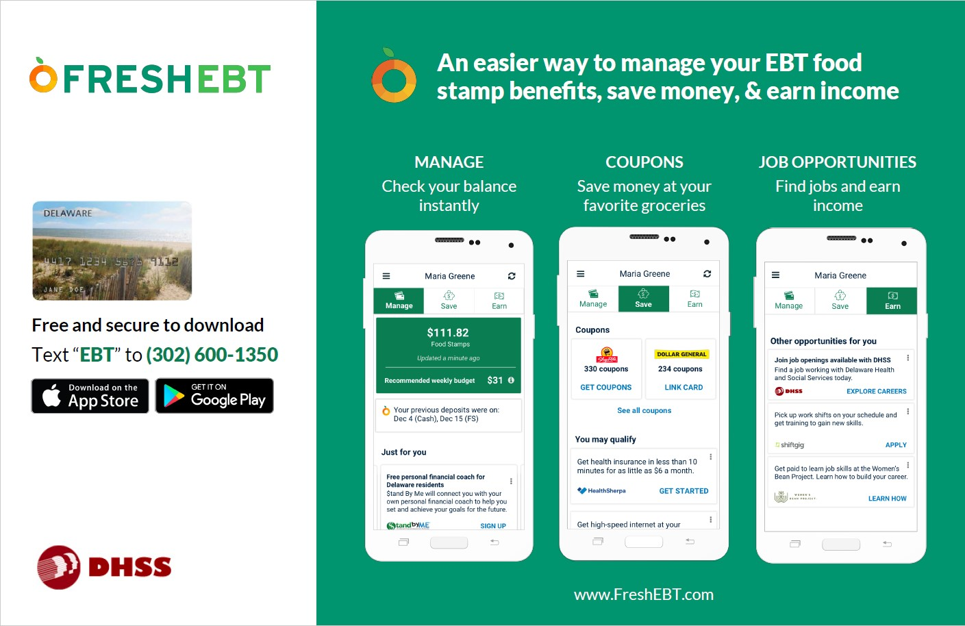 Check Your SNAP Food Stamp EBT Balance And Purchase History On Smartphone With The FREE FreshEBT App