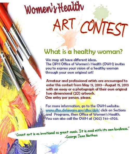 office of women u0026 39 s health art contest